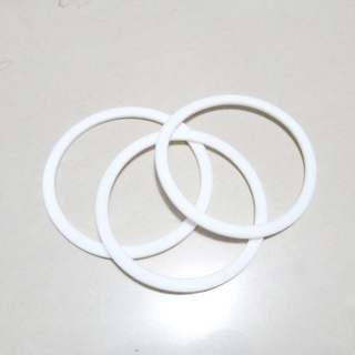 High Performance White Flat PTFE Sealing Gasket