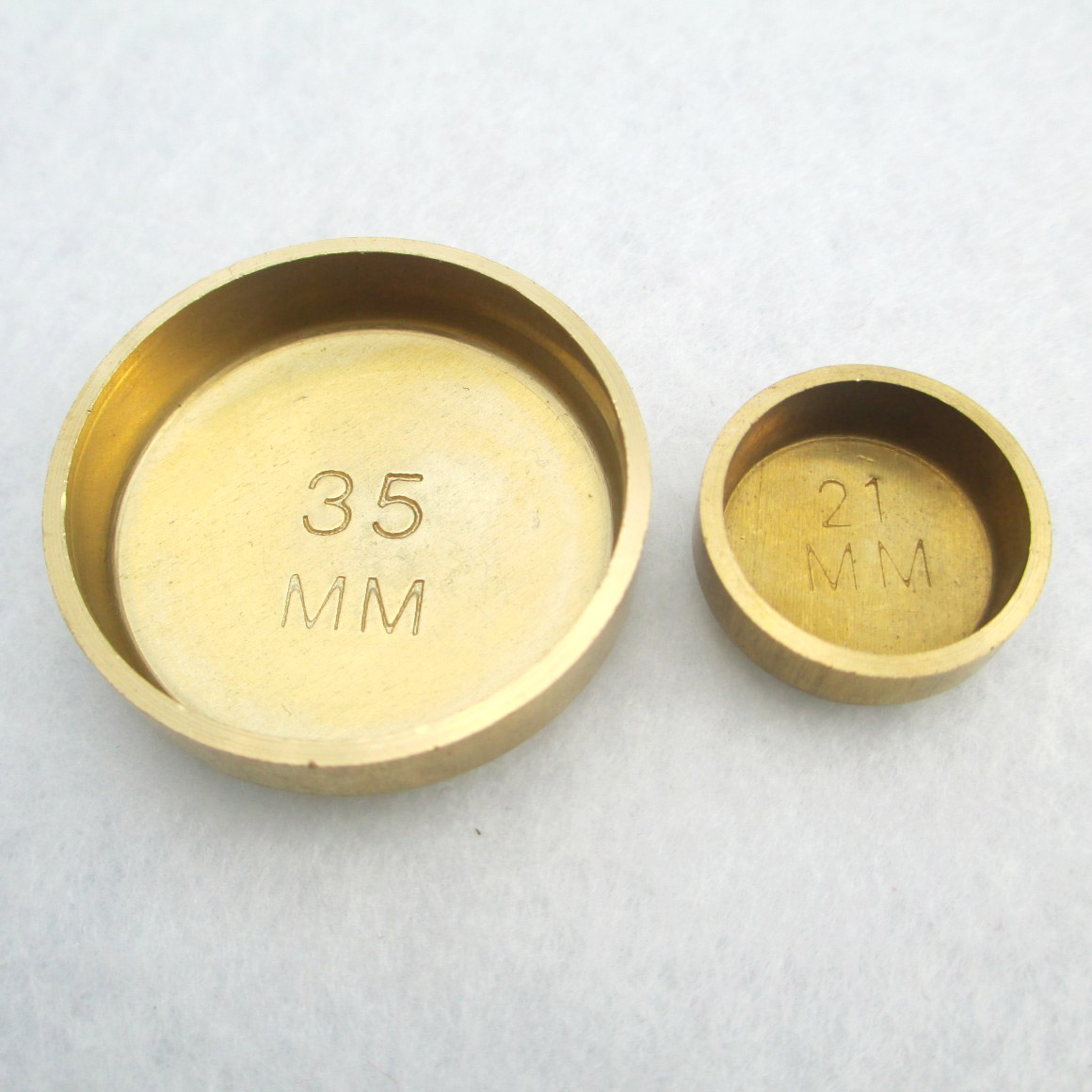 Brass And Copper Cylinder Cap