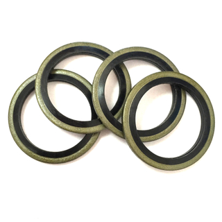 22mm Diameter 2mm Thickness Rubber And Metal Standard Bonded Seal Washer