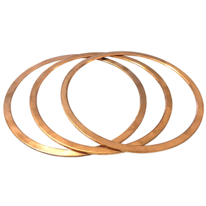 Copper Washer Flat O Ring Gasket 158*174*2/2.5/3